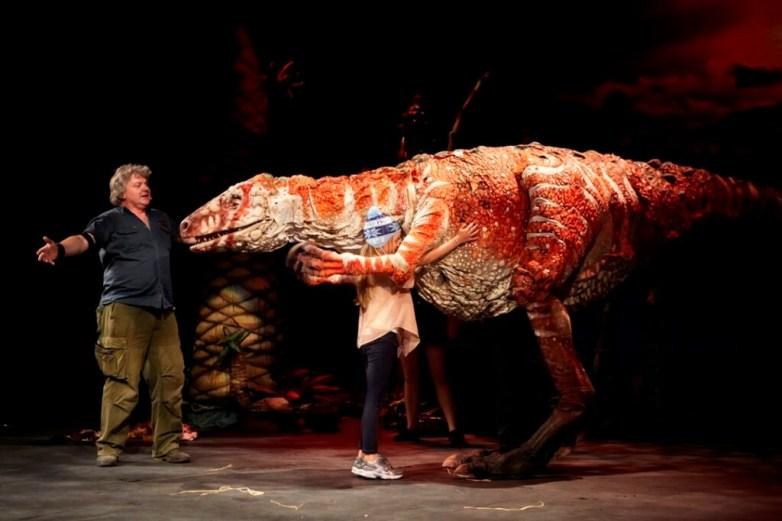 Dinosaur Petting Zoo at Carriageworks