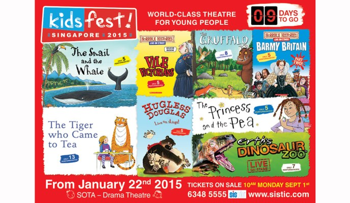 Grab Tickets to KidsFest 2015 – A World-Class Theatre Festival for Children