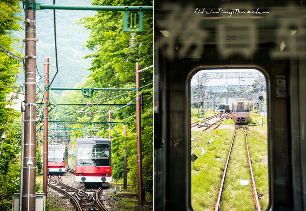 Hakone Tozan Railway Collage