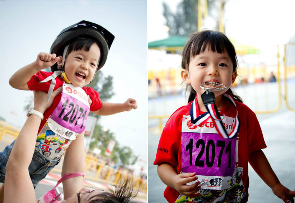 OCBC Cycle 2012 Collage 1