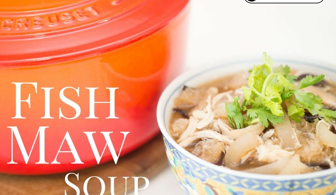 Going Local with Le Creuset:  Fish Maw Soup