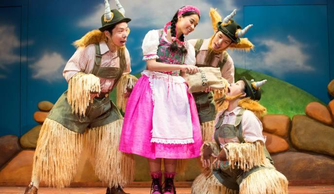 SRT's The Little Company's The Three Billy Goat Gruff 三只山羊