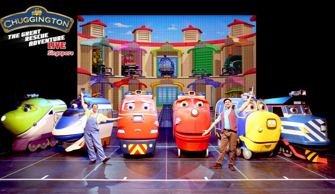 {Giveaway} CHUGGINGTON LIVE! The Great Rescue Adventure