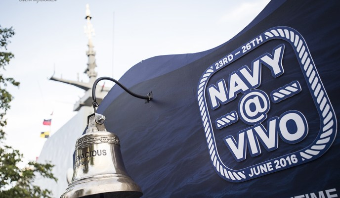 Navy @ Vivo 2016 – More than just an ordinary Open House