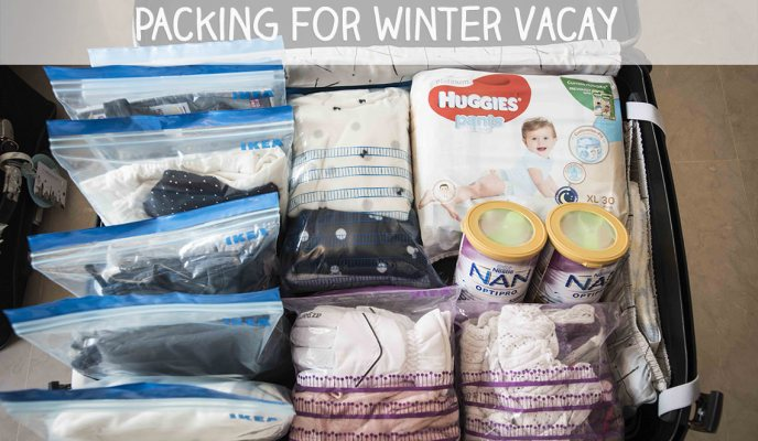 Packing for a Winter Holiday (Kids' Edition)