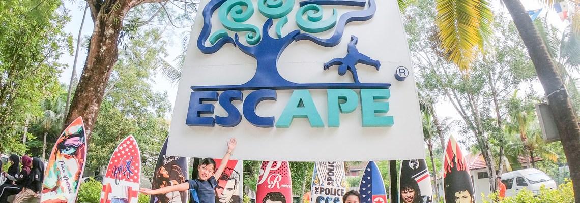 DIY Penang with kids – ESCAPE Park Review