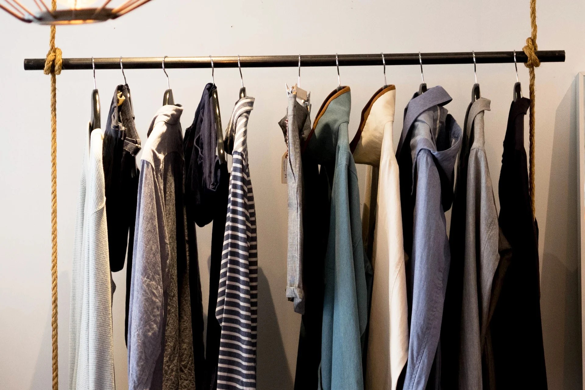 10 Clothes Storage Ideas When You Have No Closet