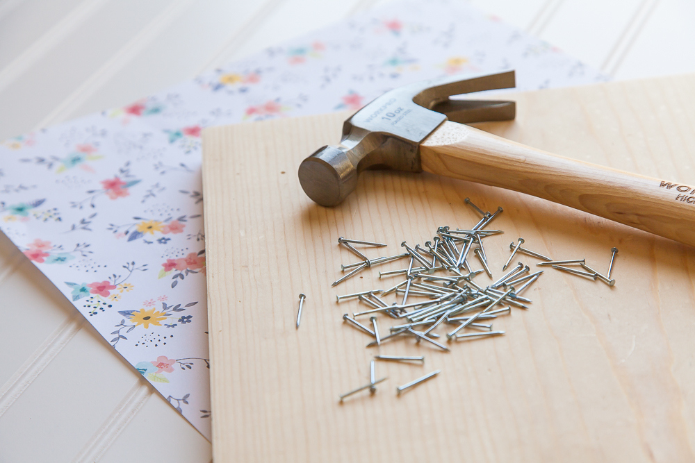 Hammer Nails Diy Project Prep Sbook Paper Flowers