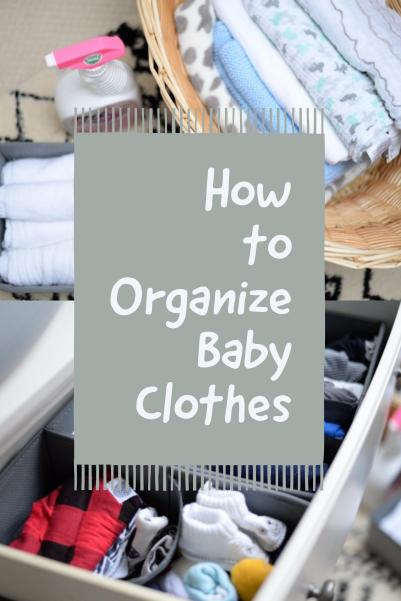 how to organize baby clothes pinterest image life storage blog
