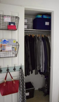Reclaim Your Closets: 17 Brilliant Hall Closet ...