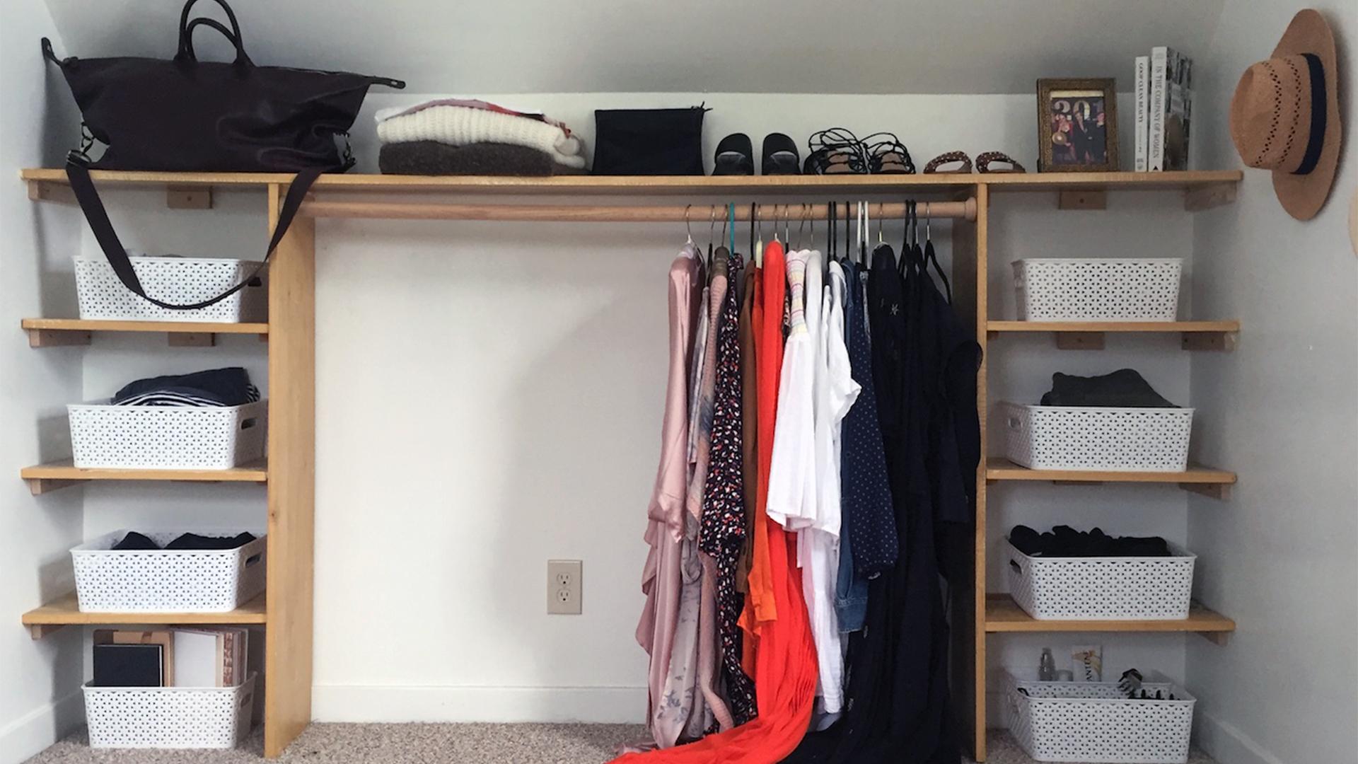 How To Make A Dream Diy Dressing Room Life Storage Blog