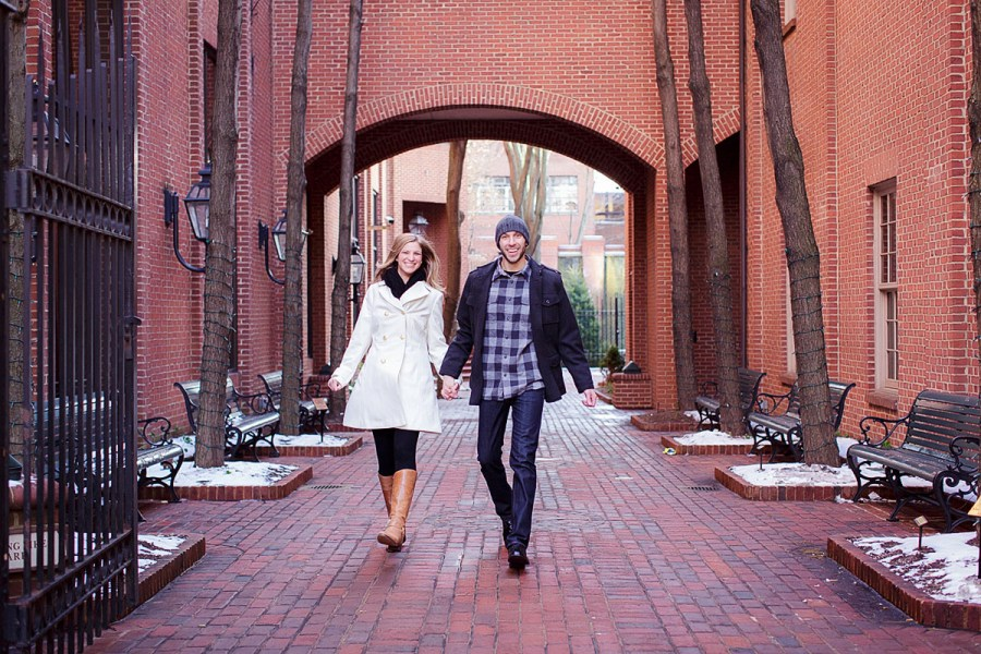 Lancaster Engagement Session at the Pressroom