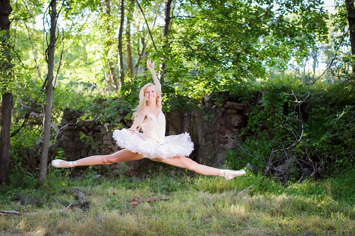 Ballet senior photos Schuylkill County