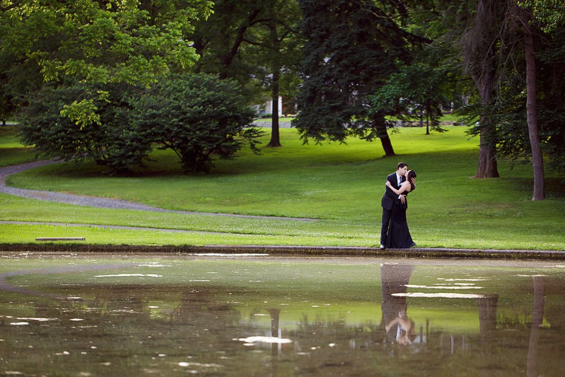 Berks County Reading PA Engagement Photos Outdoors