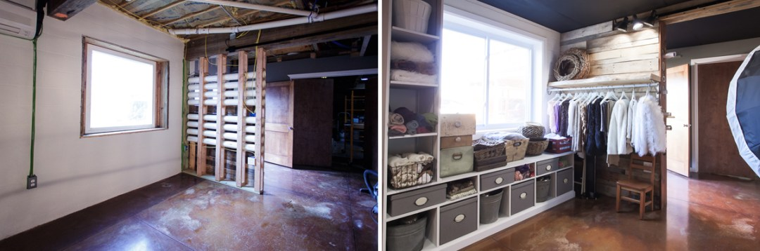 before and after photography studio photos