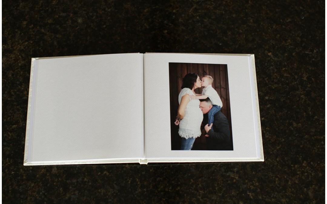 Maternity Photography Keepsake Book | Kristin
