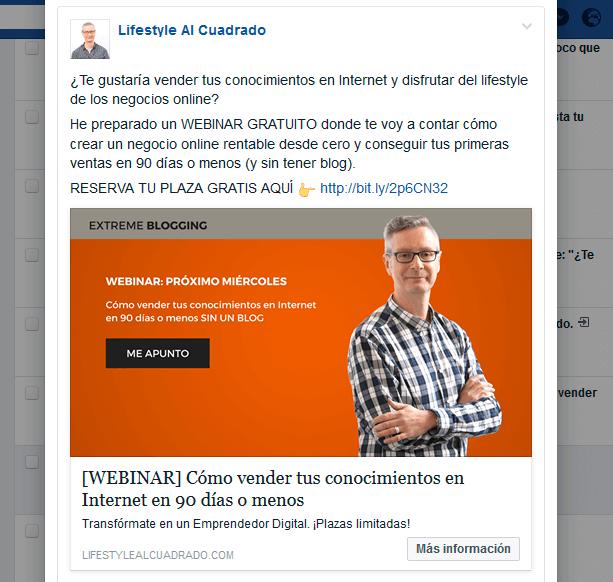 anuncio 1 facebook ads