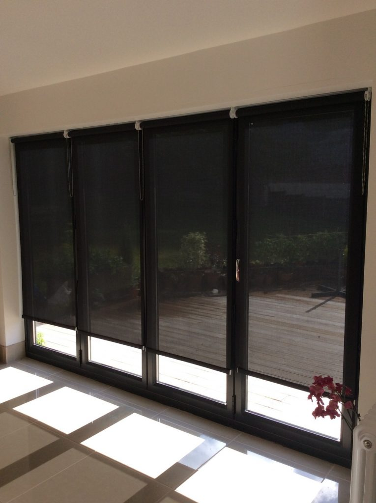 sheer and voile roller blinds