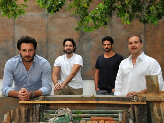 Gutti Camargo, Rico Mansur, Ruly Vieira e Thiago Camilo
