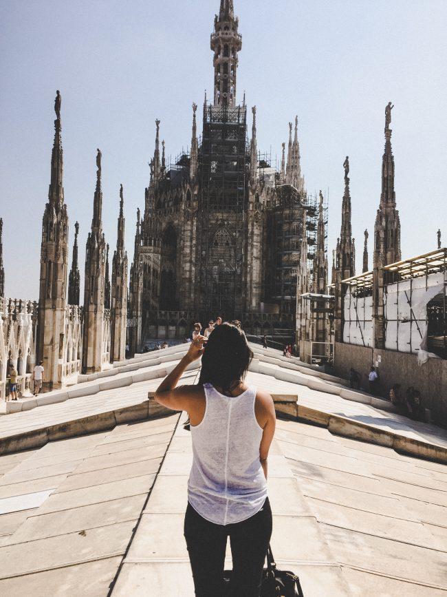 Mailand Dom Dach