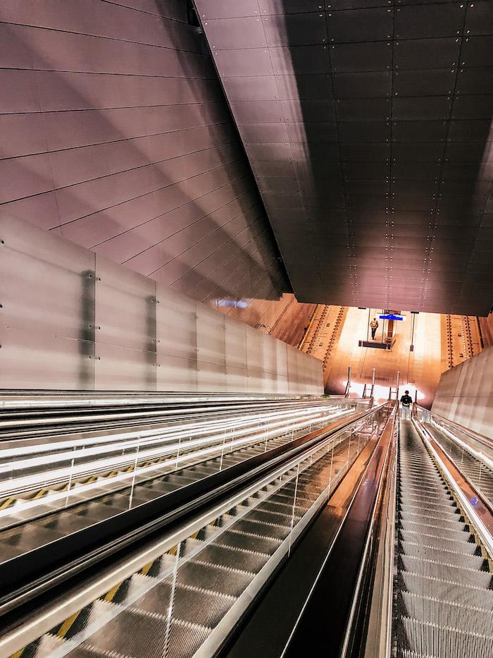 Amsterdam Metro Rolltreppe
