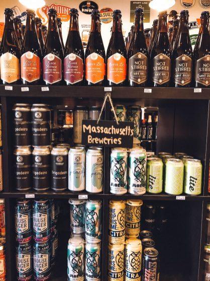 Rundreise Neuengland Staaten Kraft Beer Cellar