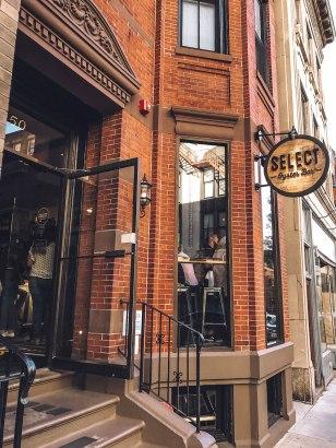 Rundreise Neuengland Staaten Select Oyster Bar Entrance