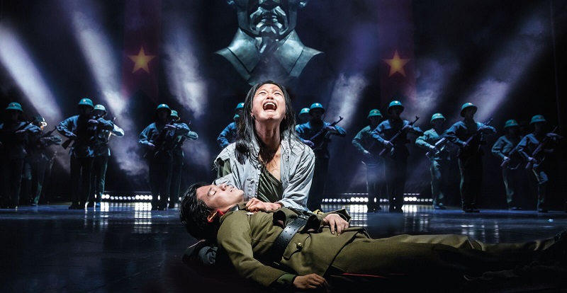 MISS SAIGON Sooha Kim Kim and Gerald Santos Thuy