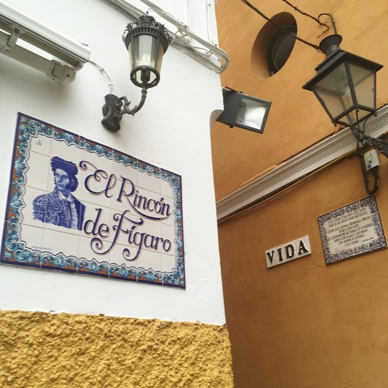 Santa Cruz Jewish quarter in Seville