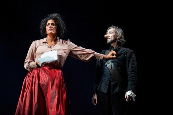 Cyrano de Bergerac played by Tristan Sturrock at Bristol Old Vic