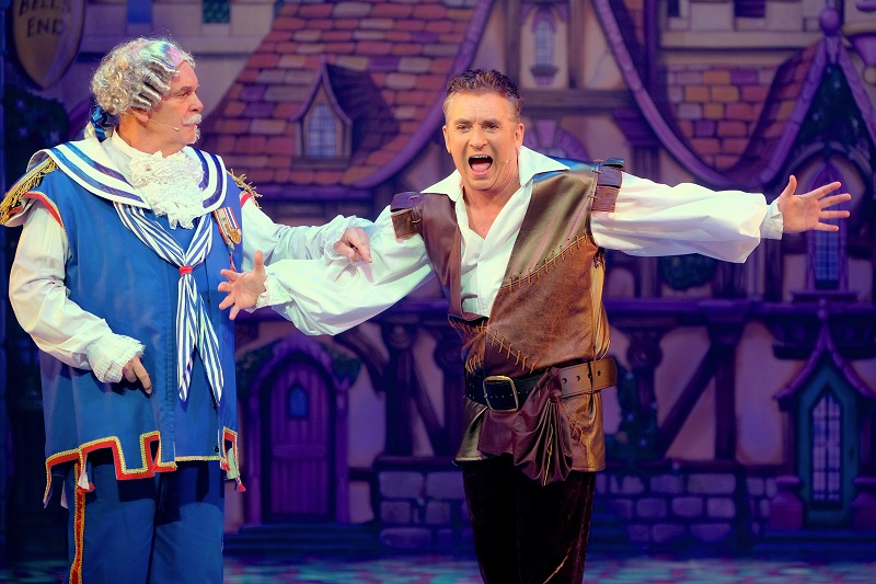 Shane Richie and Peter Piper in Dick Whittington at Bristol Hippodrome
