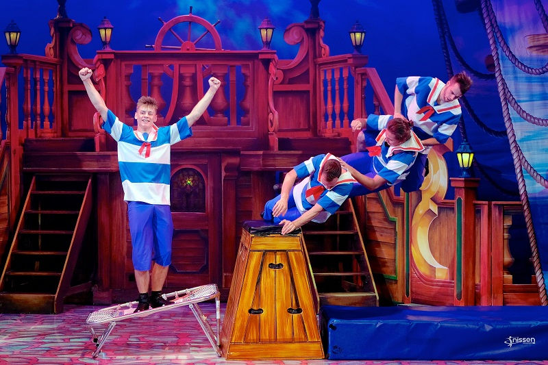 The Acromaniacs in Dick Whittington at Bristol Hippodrome