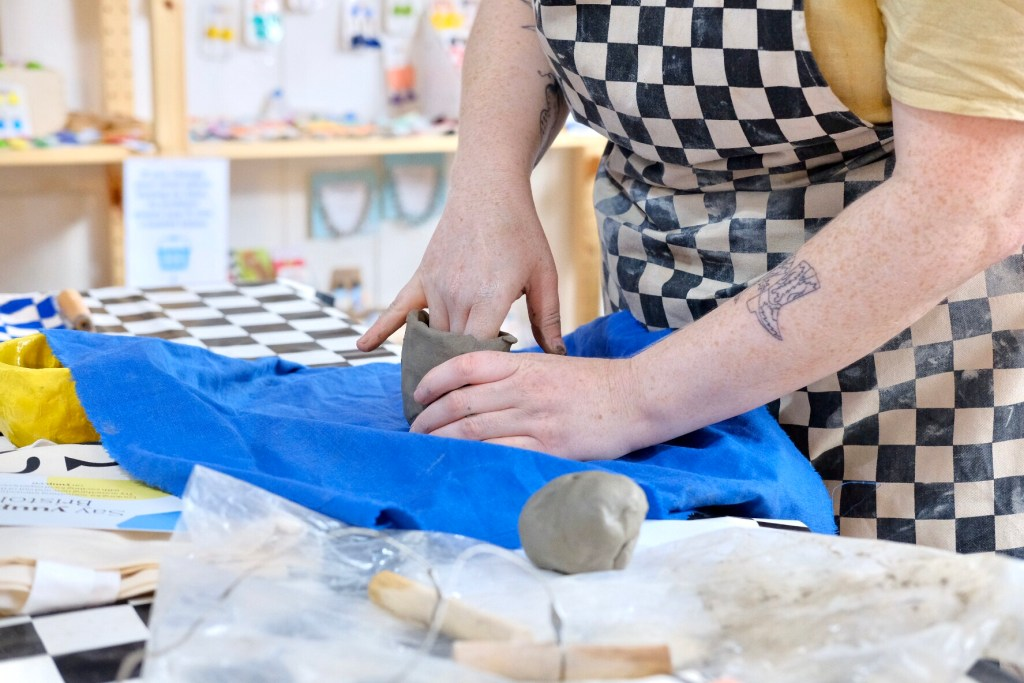 Pottery classes Bristol: my first pottery class at Trylla Bristol in pictures
