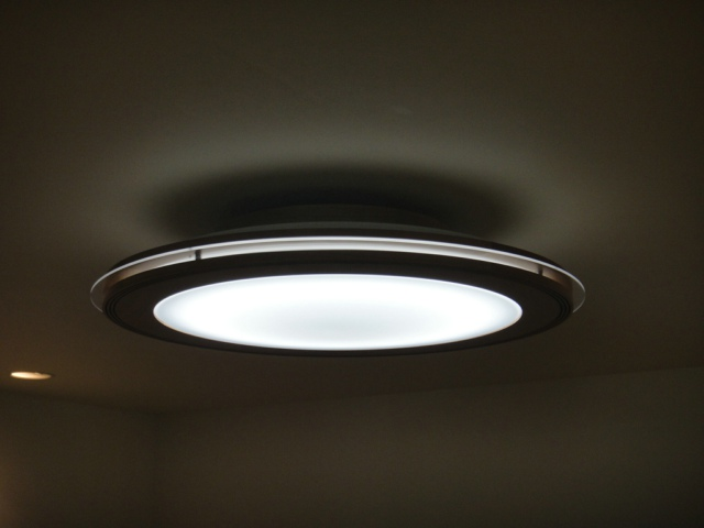 NEC Concept LED Ceiling Light With Integrated Speaker controlled by Android Phone