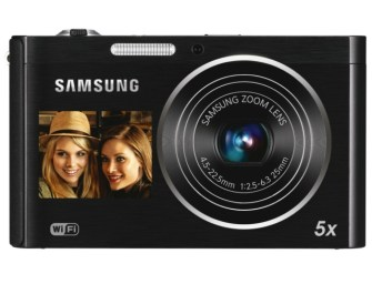 Samsung WiFi-enabled DV300F 16-megapixel DualView Digital Camera