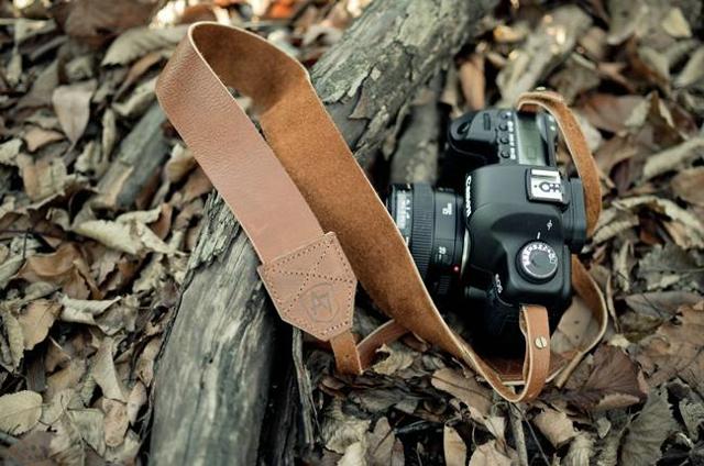 The Original Camera Stap - Flat Brown