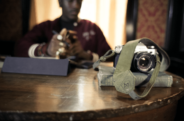 The Original Camera Stap II - Two Tone Edition -Sofe Olive & Grey
