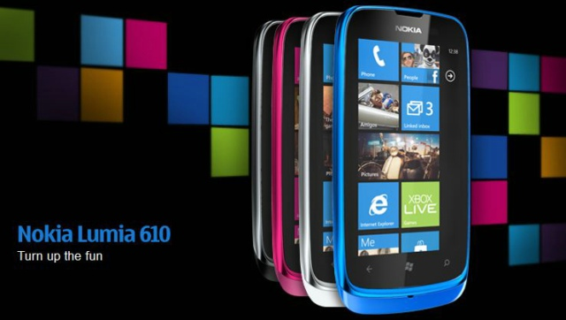 Nokia Lumia 610 With NFC