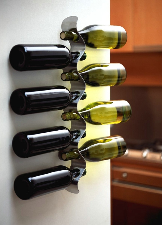 Black+Blum flow Wall Mounted Wine Rack