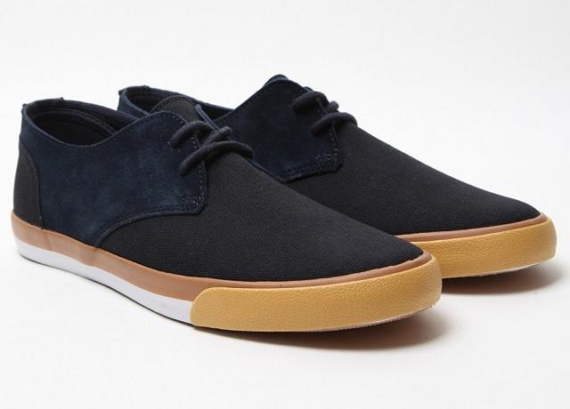 4fe1c8446b38 Comme Des Garçons Shirt Black Suede Trimmed Sneakers