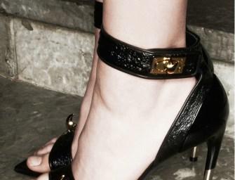 Givenchy Black Charlinette Heels