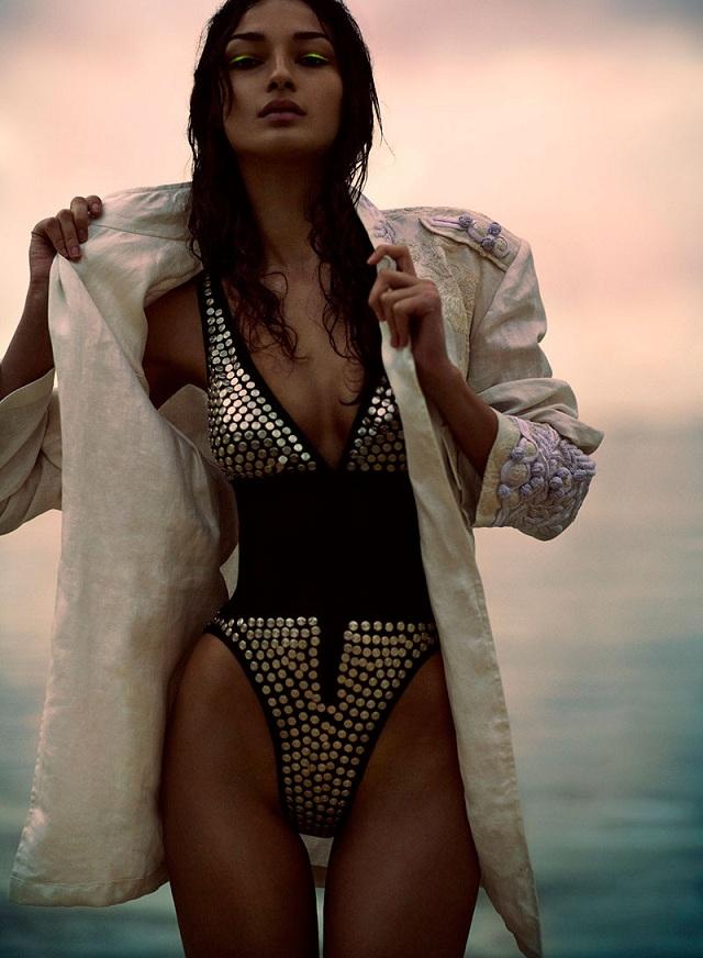 Bruna Tenorio by Chris Nicholls for Flare