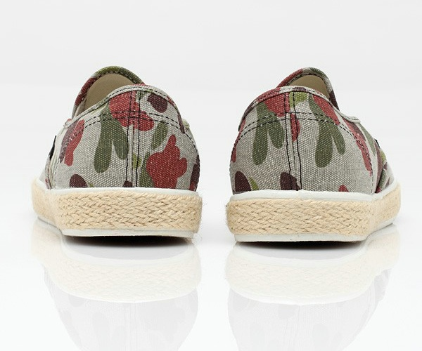 Vans LP Slip-On in Camo