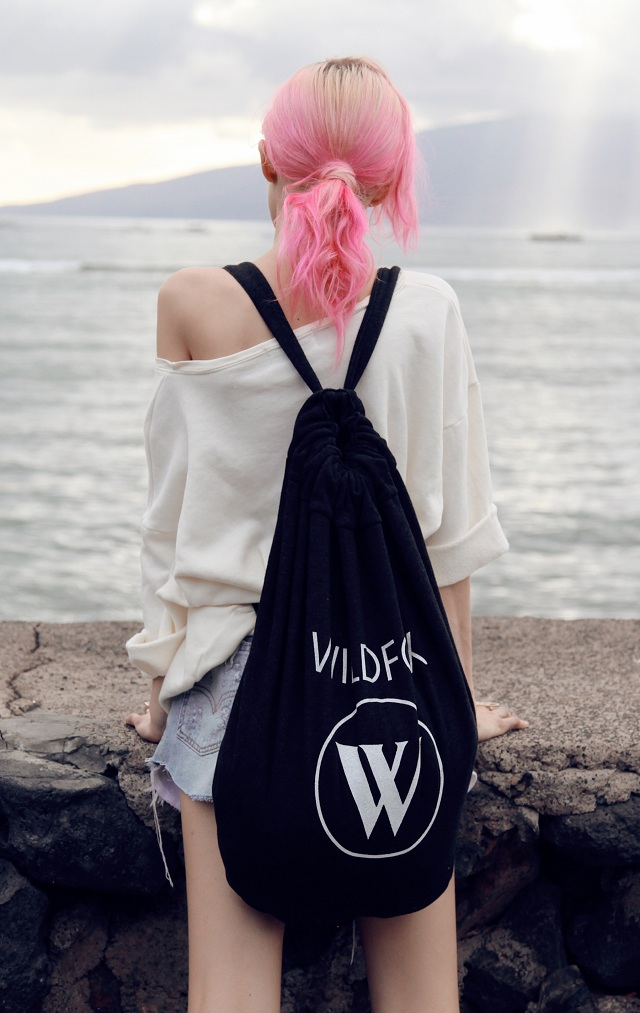 Wildfox Beach Logo Roadtrip Bag