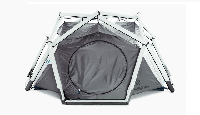 Inflatable Cave Tent by Heimplanet