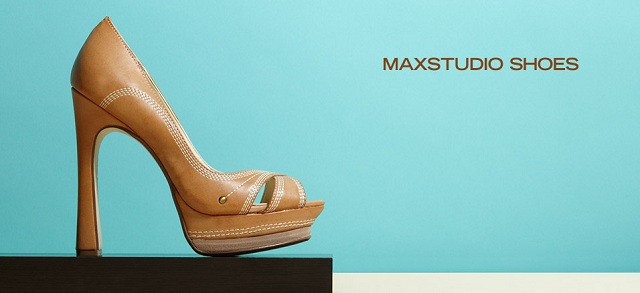 MaxStudio Shoes at MYHABIT