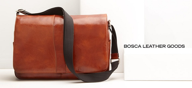 Bosca Leather Goods at MYHABIT