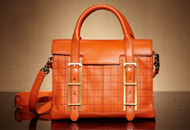 Botkier Eden Leather Small Quilted Satchel