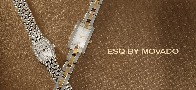 ESQ by Movado Women's Watches at MYHABIT