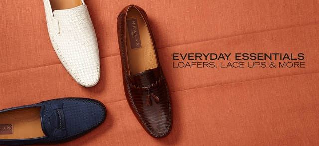 Everyday Essentials: Loafers, Lace Ups & More at MYHABIT